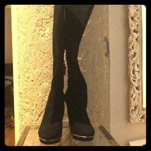 BCBGMAXAZRIA Suede Tall Boots - size 9.5